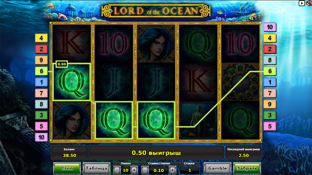 Lord Of The Ocean 9