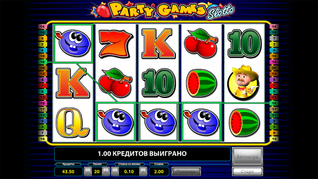 Party Games Slotto 7
