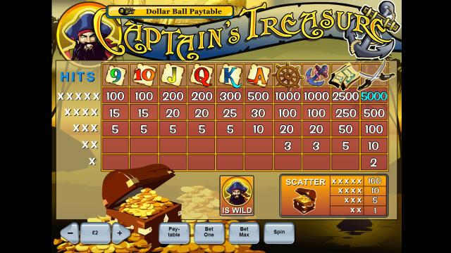 Captain's Treasure 5