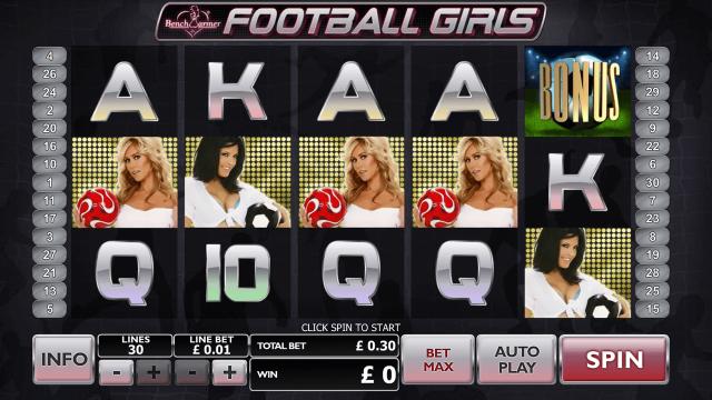 Benchwarmer Football Girls 5