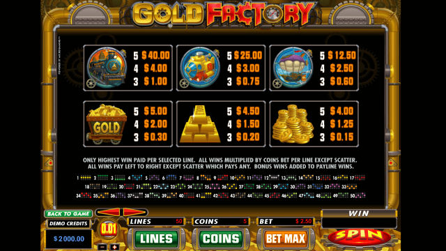 Gold Factory 5