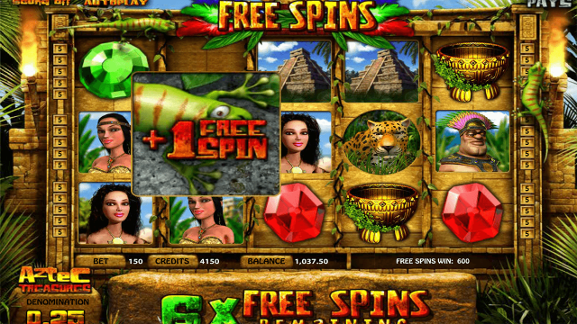 Aztec Treasures 3D 4