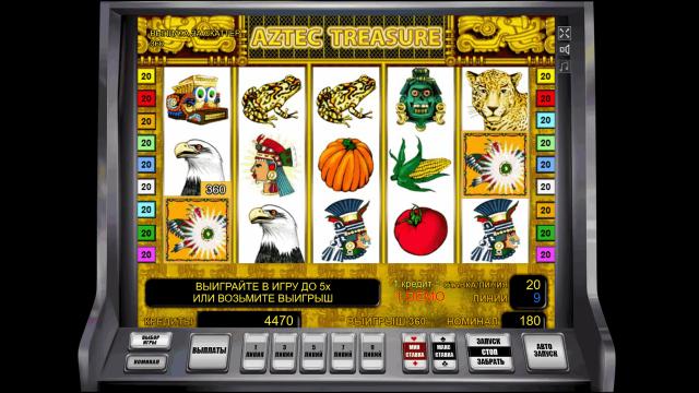 Aztec Treasure 8