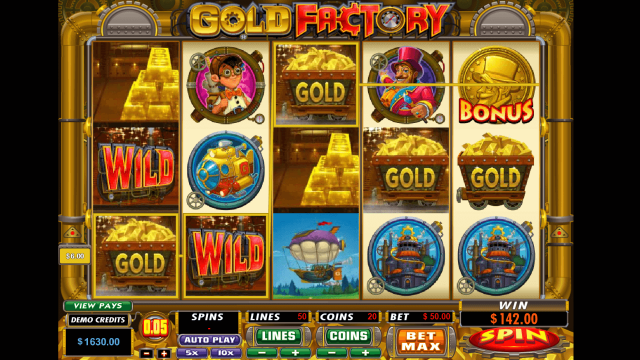 Gold Factory 10