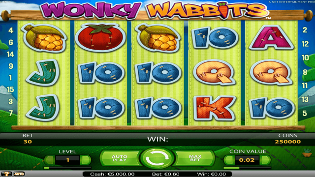 Wonky Wabbits 1