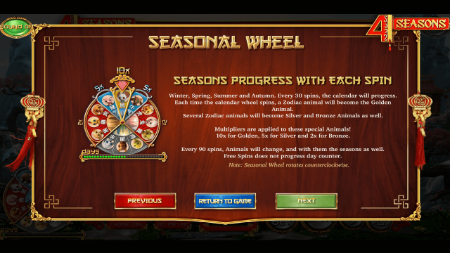 4 Seasons 4