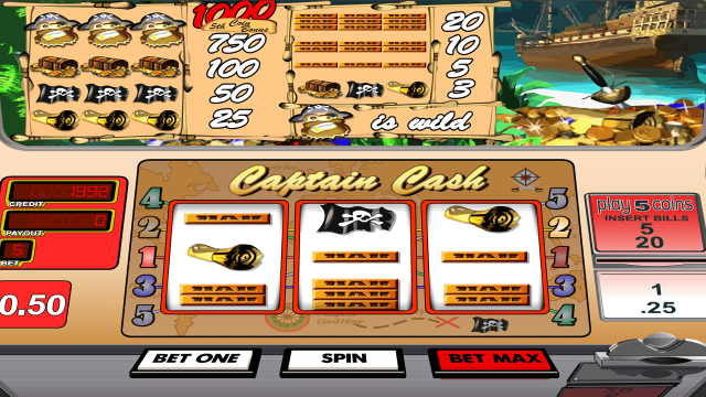 Captain Cash by Betsoft 4