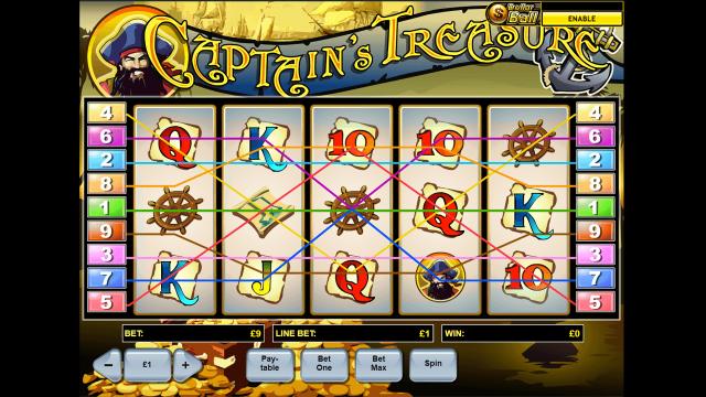 Captain's Treasure 1