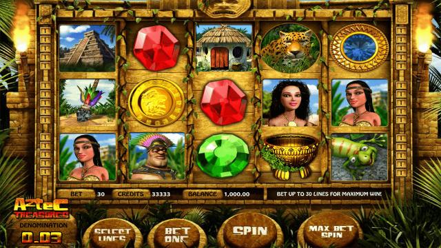Aztec Treasures 3D 1