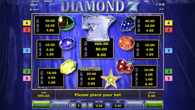 Diamond 7 3