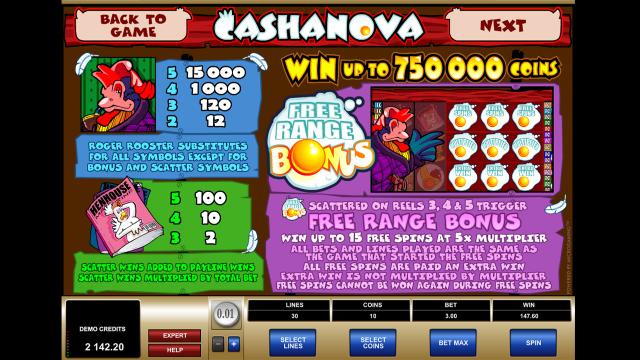 Cashanova 5