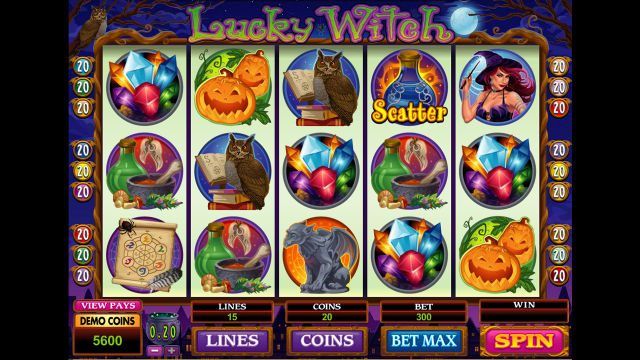 Lucky Witch 8