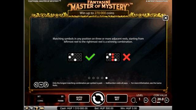 Fantasini: Master Of Mystery 4