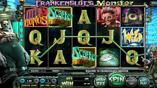 Frankenslot's Monster 9