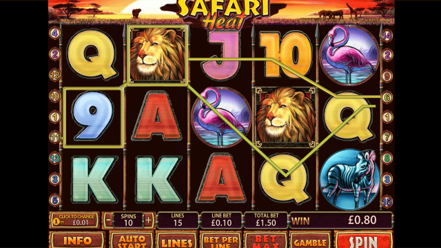 Safari Heat 10