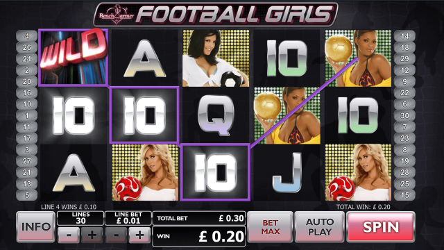 Benchwarmer Football Girls 7