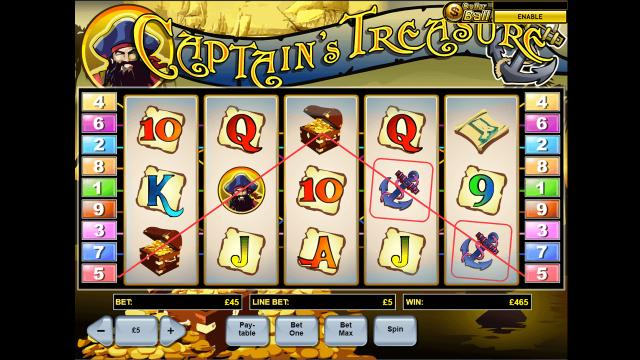 Captain's Treasure 9