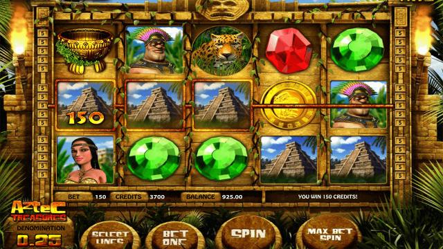 Aztec Treasures 3D 3