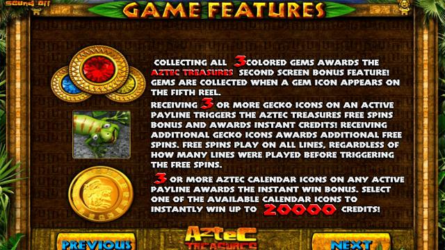 Aztec Treasures 3D 7