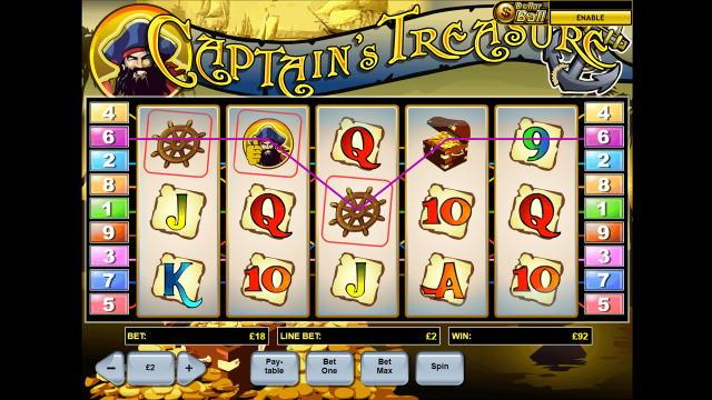 Captain's Treasure 3