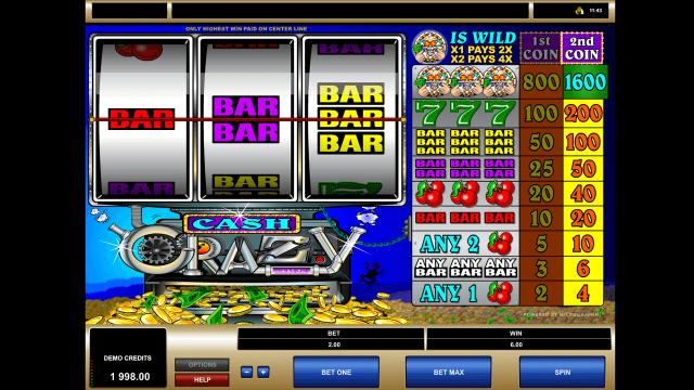Cash Crazy 6