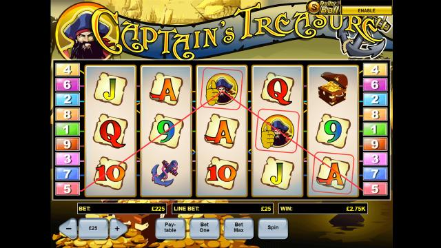 Captain's Treasure 6