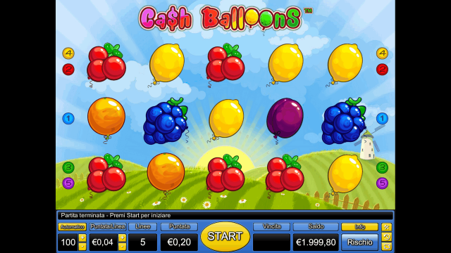 Cash Balloons 1