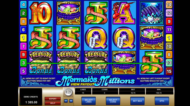 Mermaids Millions 9