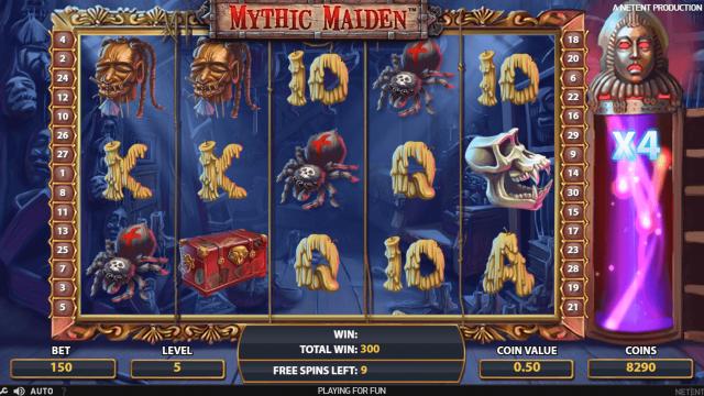Mythic Maiden 9