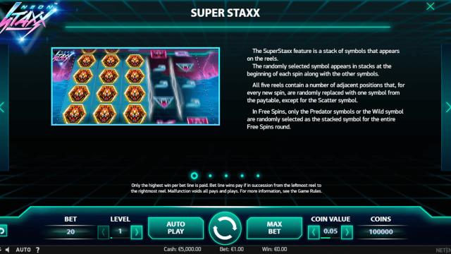 Neon Staxx 1