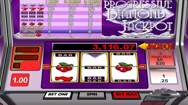 Progressive Diamond Jackpot 10