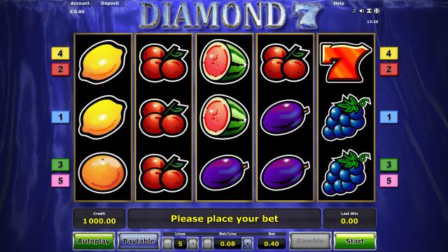 Diamond 7 7