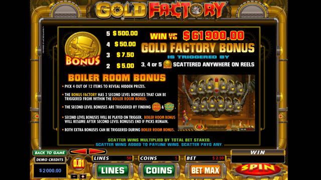 Gold Factory 2
