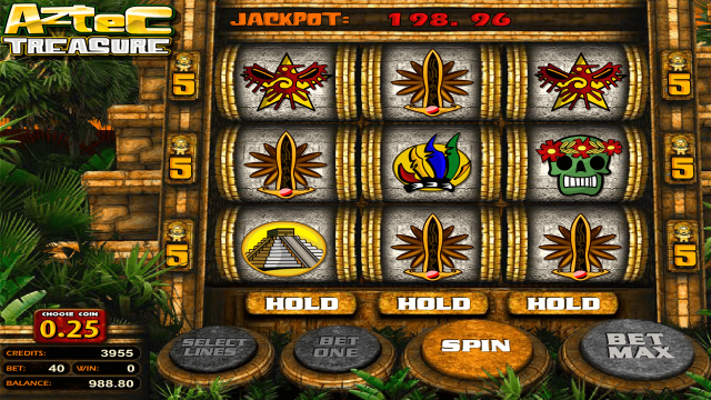 Aztec Treasure 2D 3