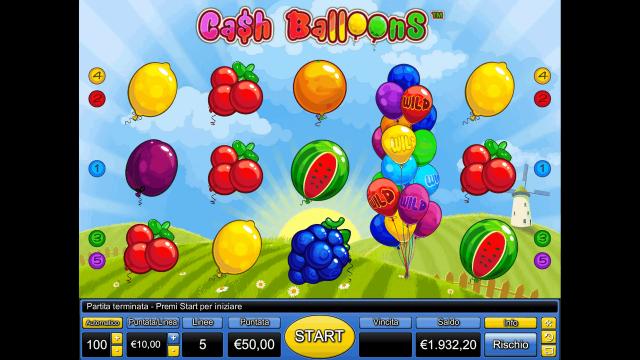 Cash Balloons 10