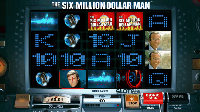 The Six Million Dollar Man 6