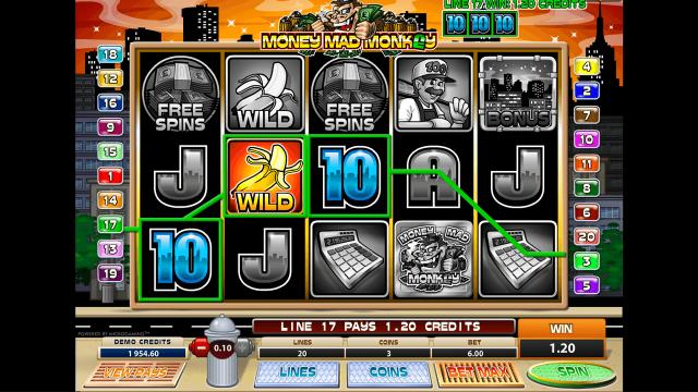 Money Mad Monkey 9