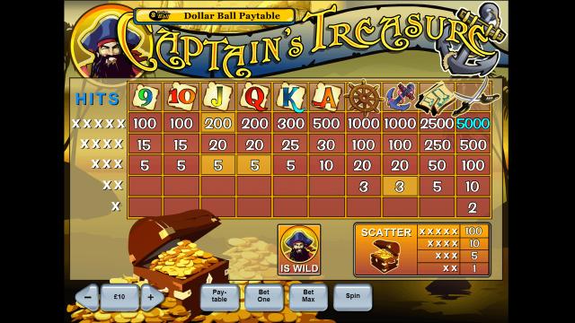 Captain's Treasure 7