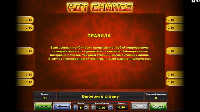 Hot Chance 9