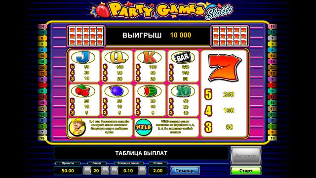 Party Games Slotto 3
