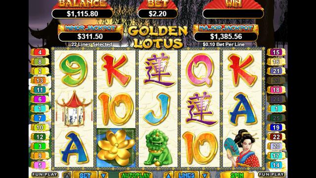 Golden Lotus 9