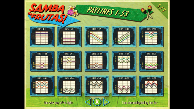 Samba De Frutas 7