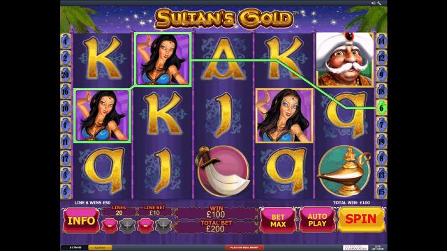 Sultan's Gold 9