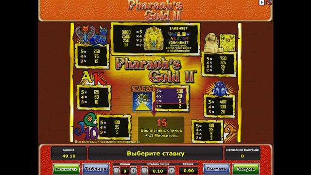 Pharaoh's Gold II 4