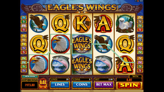 Eagle's Wings 9