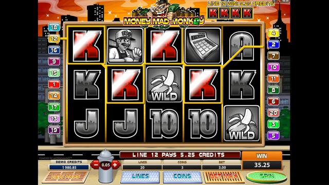 Money Mad Monkey 10