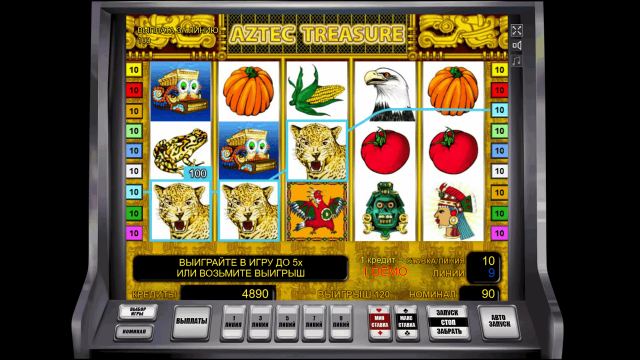 Aztec Treasure 7