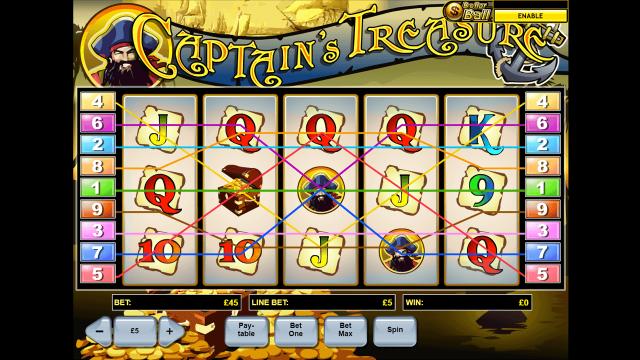 Captain's Treasure 10