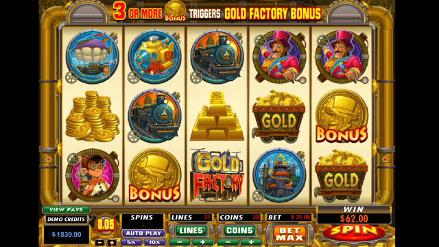 Gold Factory 9