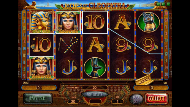 Riches Of Cleopatra 1